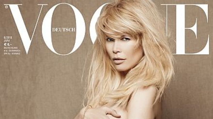 Claudia schiffer vogue