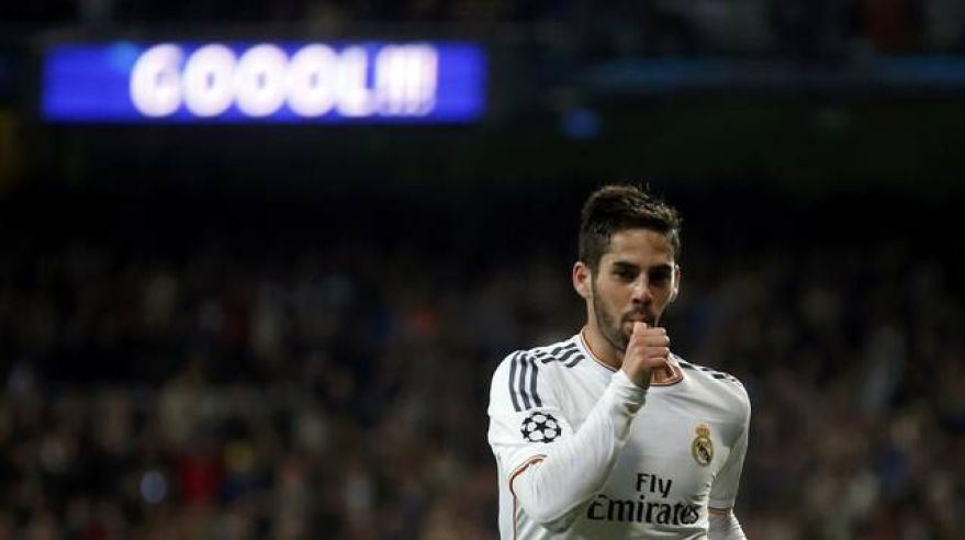 Real madrid isco lm apr14 reuters