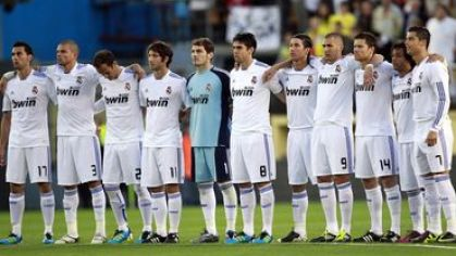 Real madrid hraci nastup jun2011