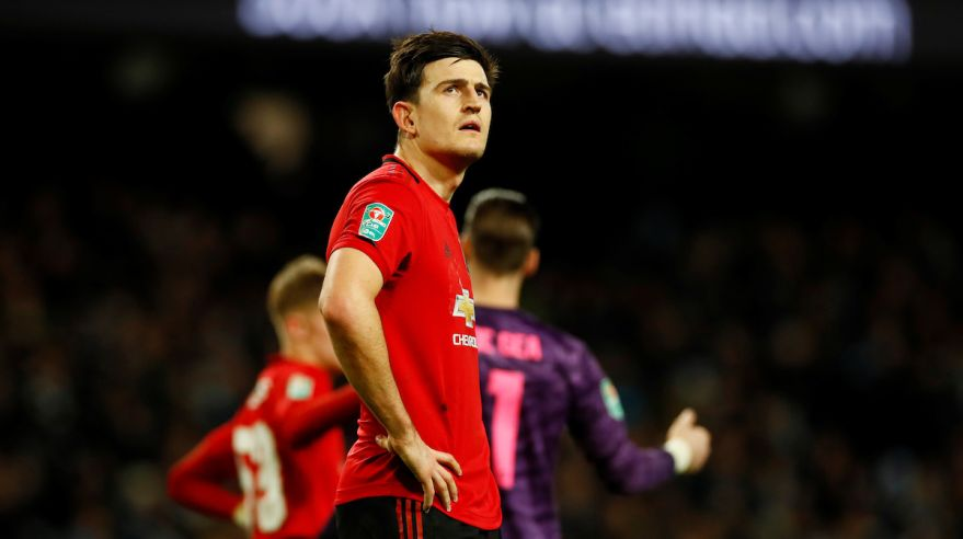 Harry Maguire z Manchestru United