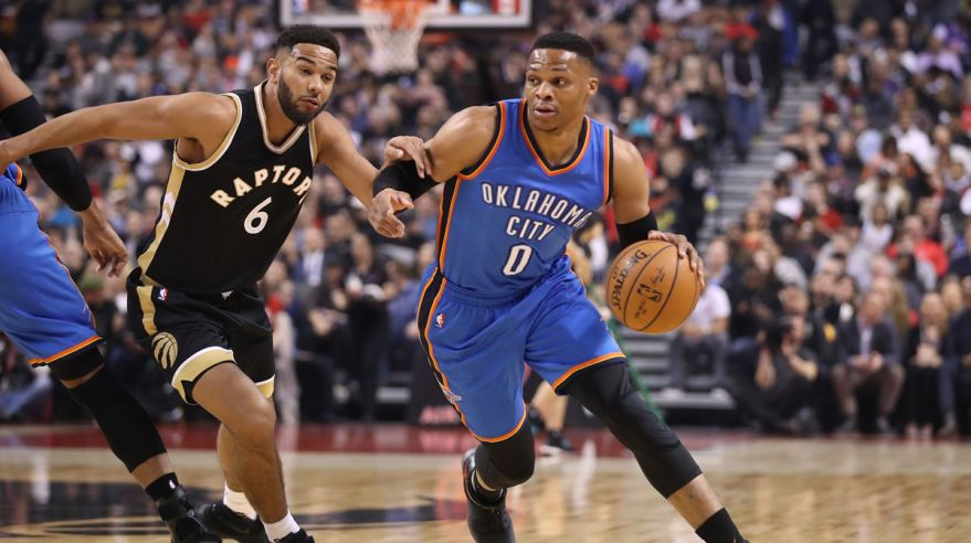 westbrook, oklahoma thunders, nba, mar2017
