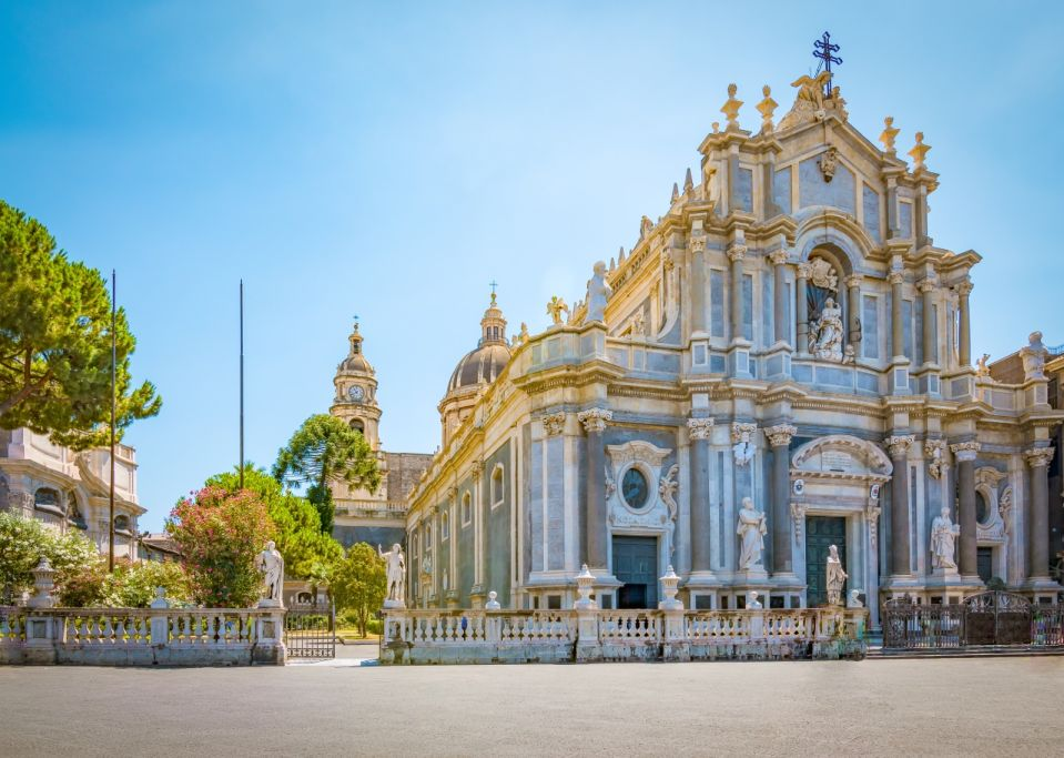 Cathedral in Catania, Sicily