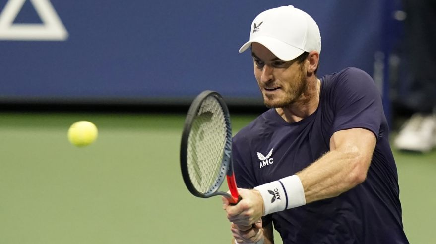 Andy Murray na US Open 2020