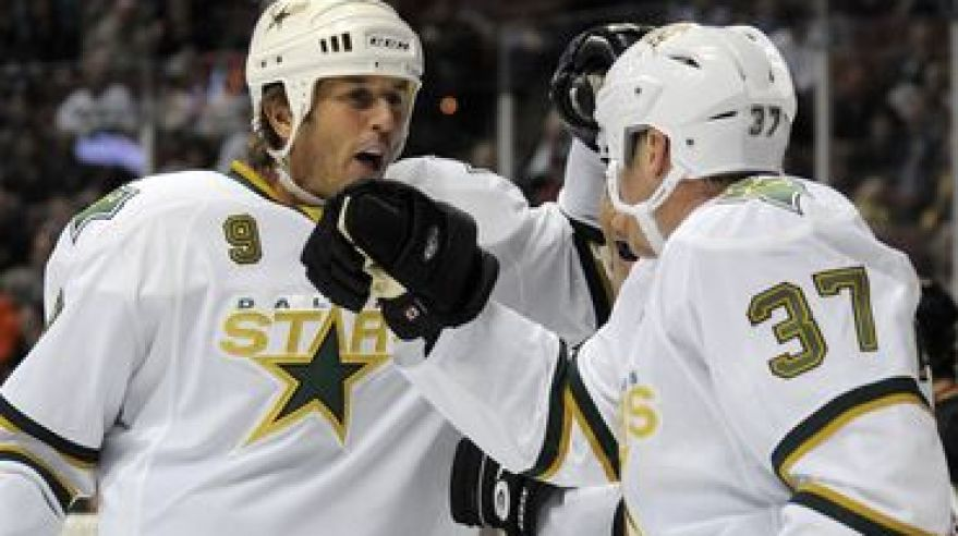Modano mike parrish mark dallas stars