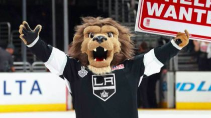 Maskot LA Kings