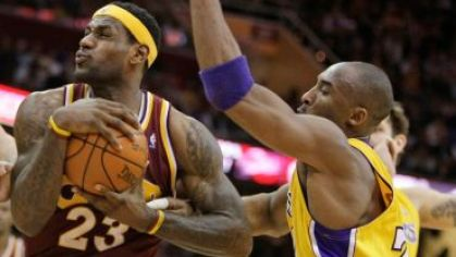 Cleveland lebron james lakers bryant 2010