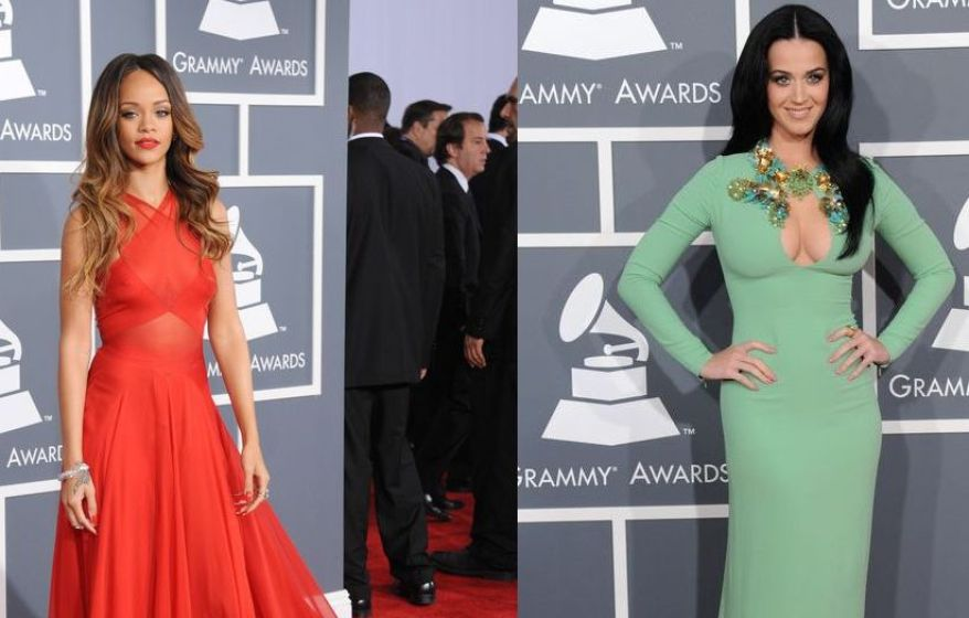 Rihanna katy perry grammy 2013 sita