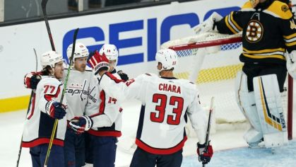 Hráči Washingtonu Capitals.