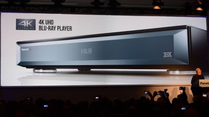 4K Blu-ray player od Panasonicu (zdroj: