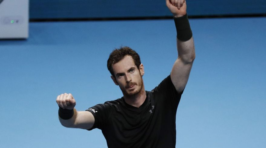 Andy Murray ATP Finals nov16 Reuters