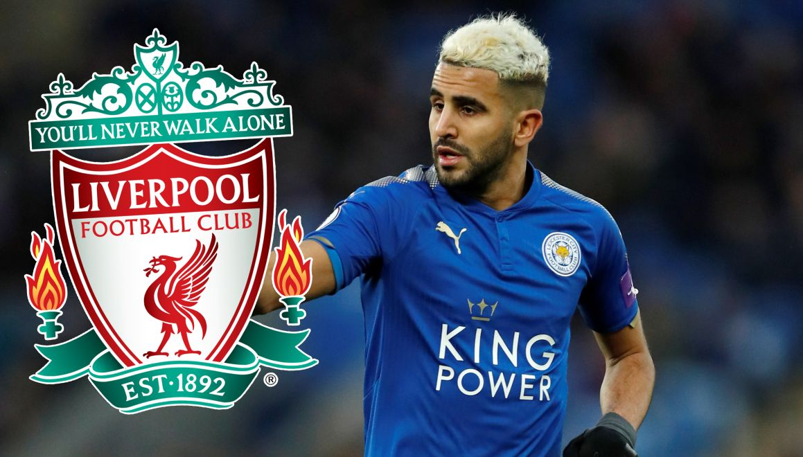 Riyad Mahrez do LFC.