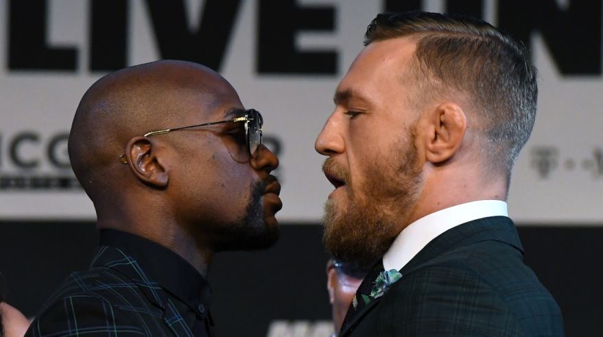 Floyd Mayweather Jr. a Conor McGregor