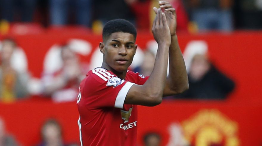 Manchester United, Marcus Rashford, feb16