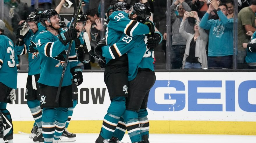 Logan Couture (San Jose Sharks).