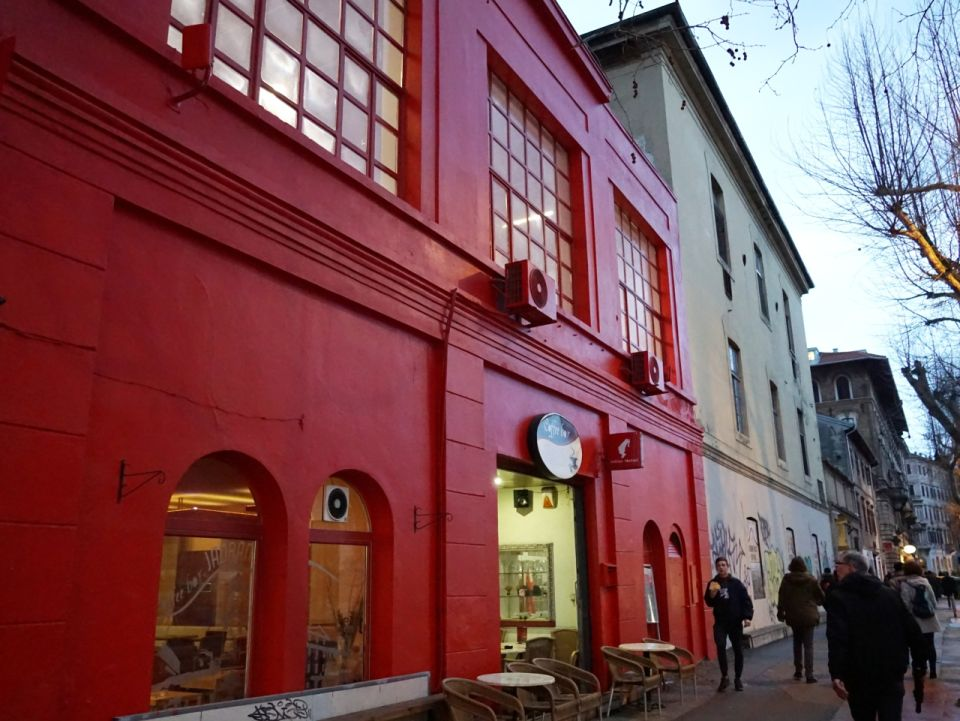 The Red house, a museum of contemporary art in the European capital of culture 2020, Croatian city of Rijeka