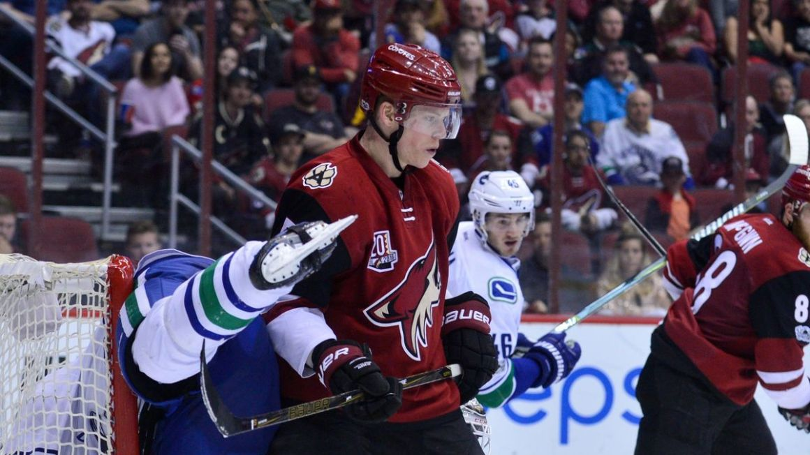 Connor Murphy Arizona Coyotes apr17 Reuters