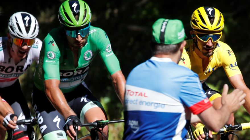 Peter Sagan na Tour de France.