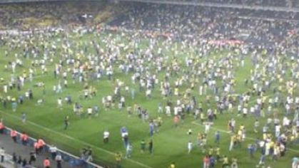 Fenerbahce istanbul riot