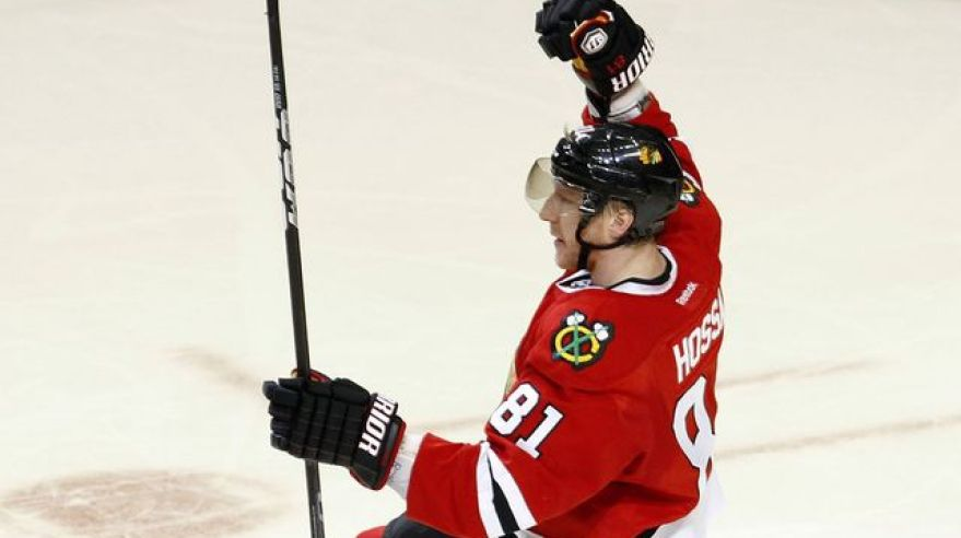 Hossa marian chicago ruka horeee mar2012 reuters