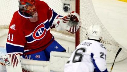 Montreal halak vychytal tampa st louis 2010