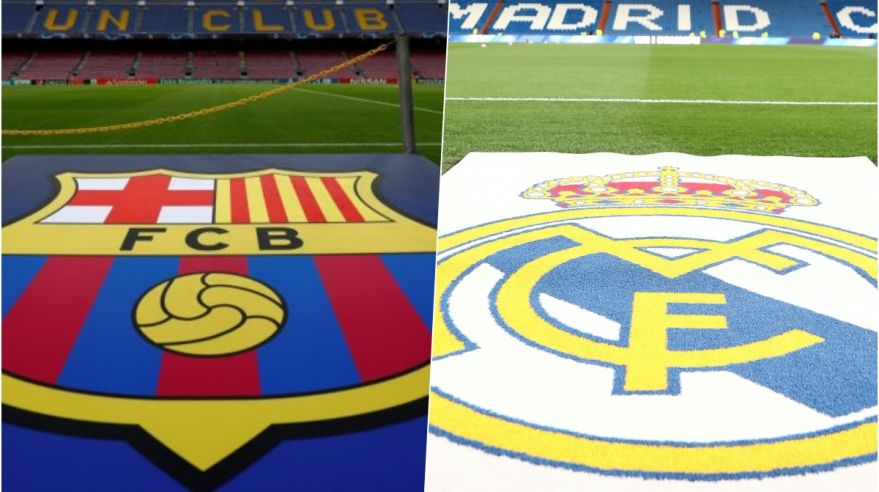 FC Barcelona a Real Madrid.