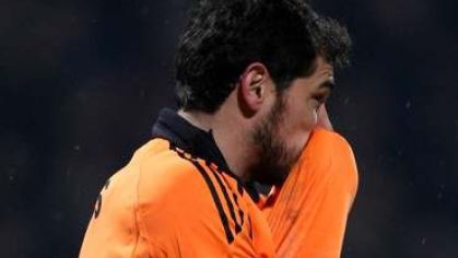 Casillas iker real madrid smutok