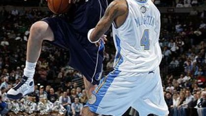 Nowitzki mavericks denver nuggets