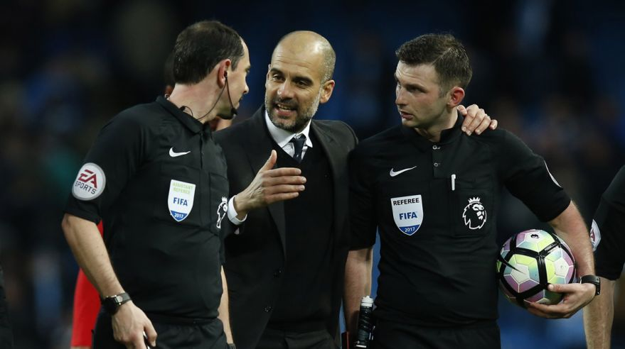 man city, guardiola, arbitri, mar2017