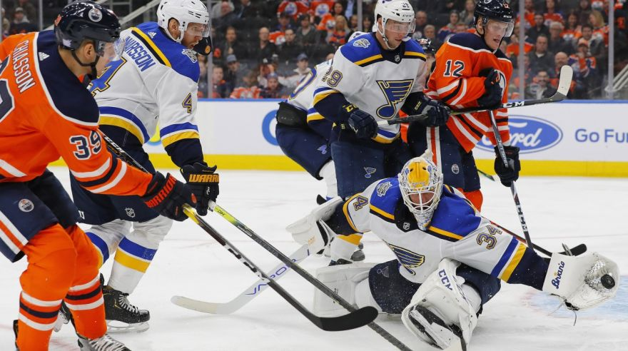 Edmonton Oilers - St. Louis Blues.