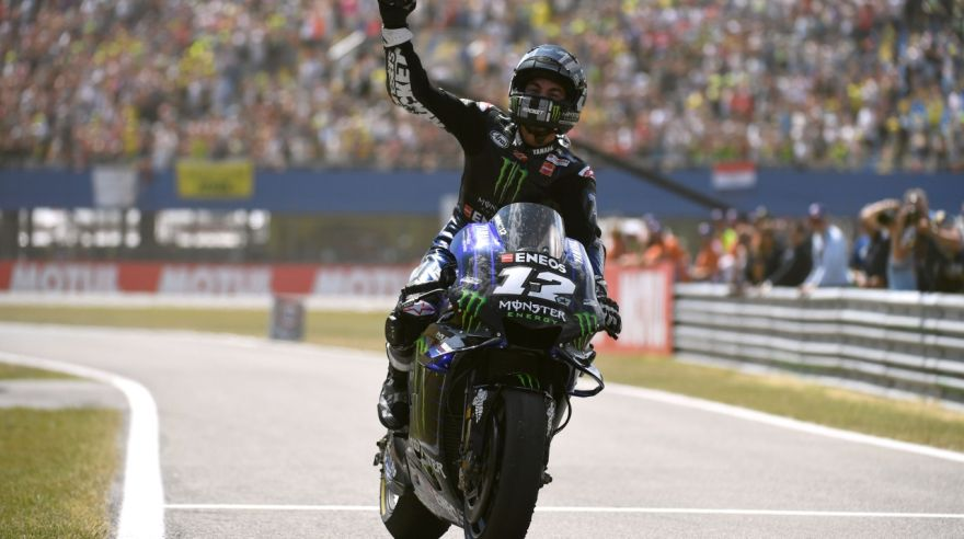 Maverick Vinales, Yamaha Monster Energy
