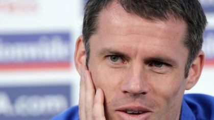 Jamie carragher liverpool tlacovka
