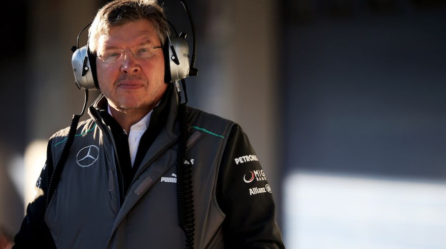 Ross Brawn, F1, gettyimages