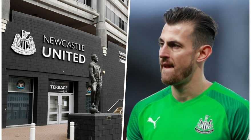 Martin Dúbravka a Newcastle United