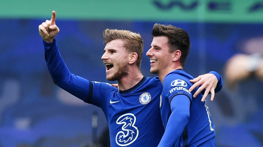 Timo Werner a Mason Mount (Chelsea)