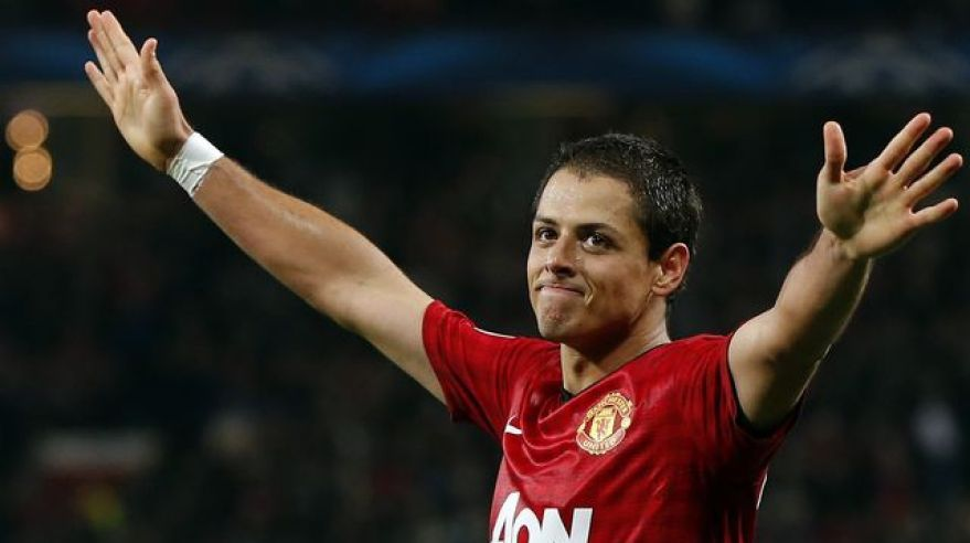 Manchester united chicharito okt12 lm reuters