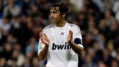 Raul real madrid tlieska