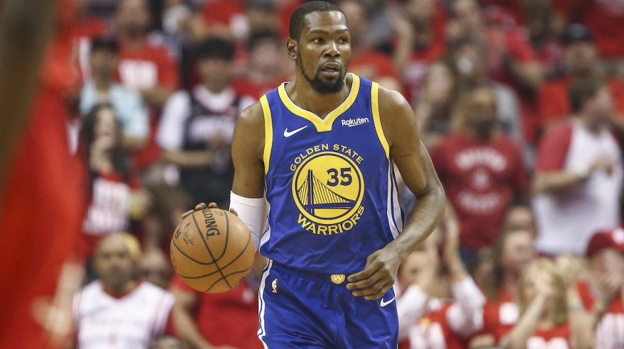 Kevin Durant z Golden State Warriors.