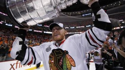 Hossa marian chicago stanley cup 2010