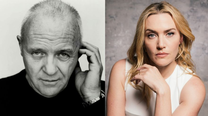 Kate WInslet, Anthony Hopkins