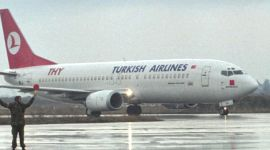 Turkish Airlines Boeing 737.