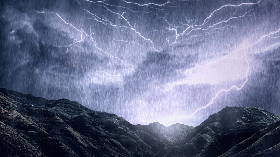 Mother Nature unleashes her rage