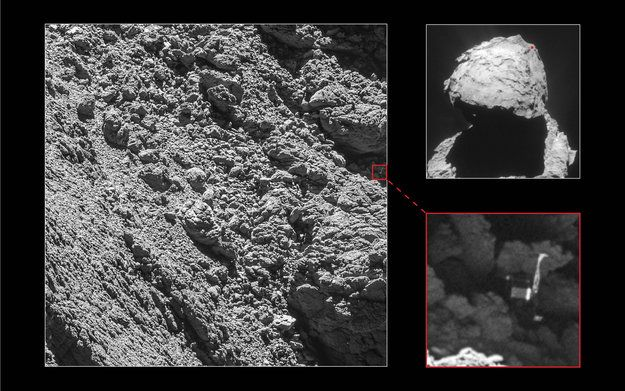 Stratená sonda Philae