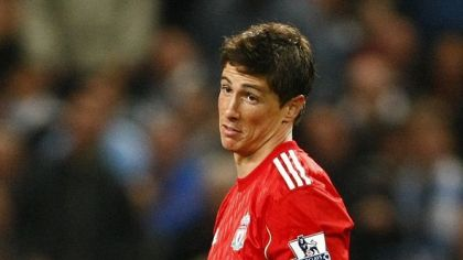 Duel manchester city liverpool torres