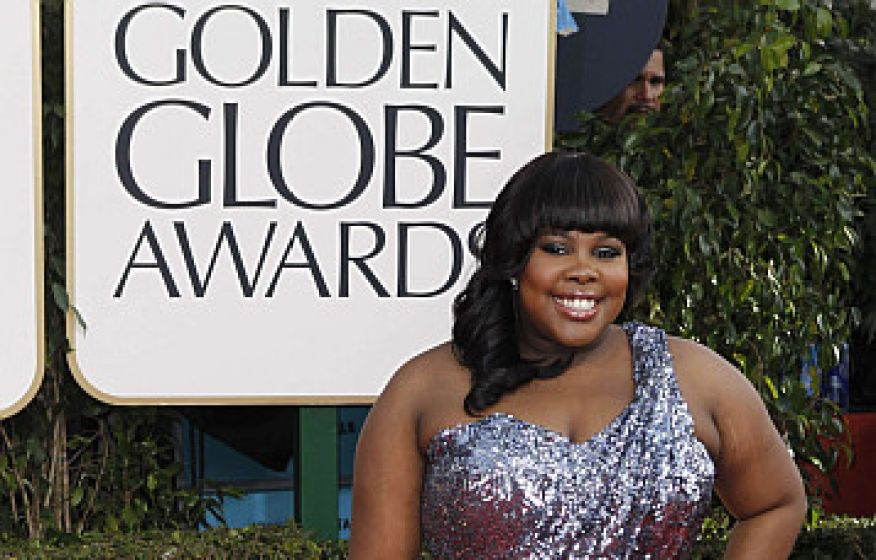 Golden globe amber riley1
