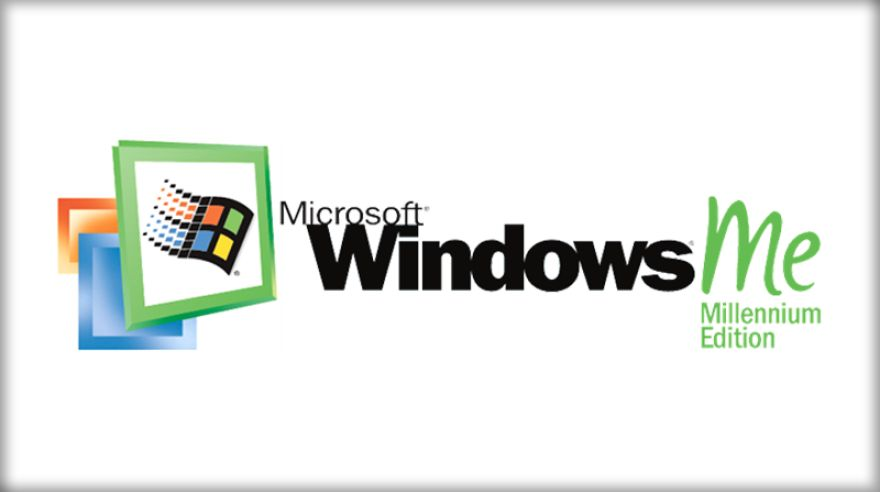 Logo systému Windows ME
