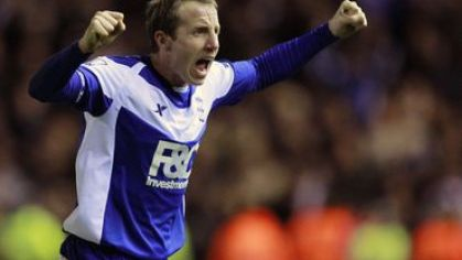 Bowyer birmingham city carling cup semifinale victory jan2011