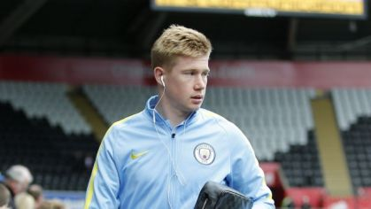 Kevin de Bruyne Manchester City sep16 Reuters
