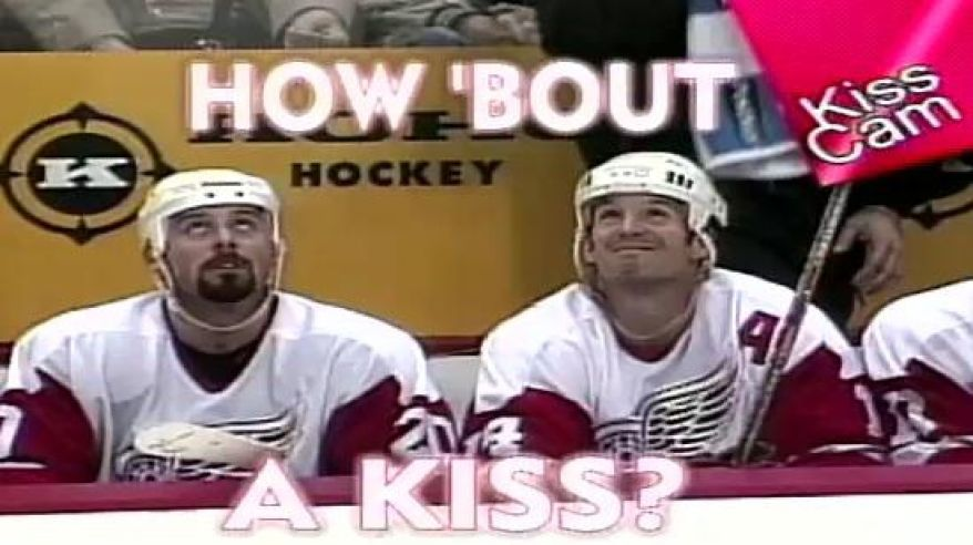 How about a kiss video dna