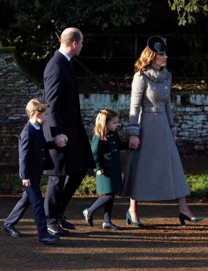 Princ Willia, Kate Middleton, Princess Charlotte