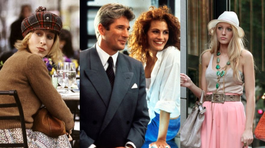 Sex v meste, Pretty woman, Gossip girl